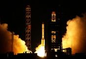Proton carrier rocket launch (archive)