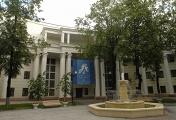 Здание Киностудии им. М. Горького на улице С.Эйзенштейна