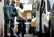 Рейд испанской полиции по задержанию причастных к террористической группировке ЭТА