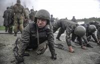 Квалификационные испытания на право ношения крапового берета среди военнослужащих отрядов спецназначения МВД РФ
