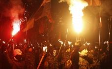 Ukrainian nationalists march in Kiev (archive)