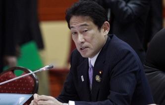 Japan's Foreign Minister Fumio Kishida