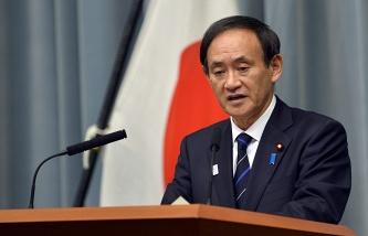 Japanese Chief Cabinet Secretary Yoshihide Suga