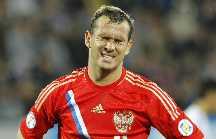Александр Кержаков досрочно покинул расположение сборной России по футболу