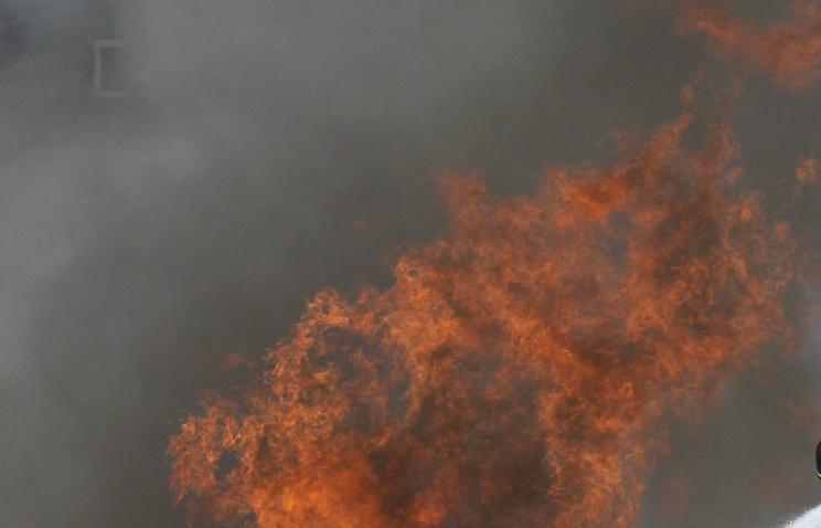 Пожар натерритории Ленинградского металлического завода вПетербурге локализован