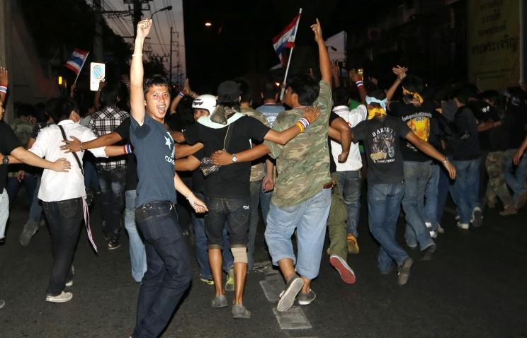 Два человека получили ранения вБангкоке вовремя уличных столкновений