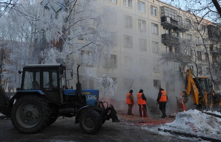 Вподмосковном Щелково возобновилась подача тепла