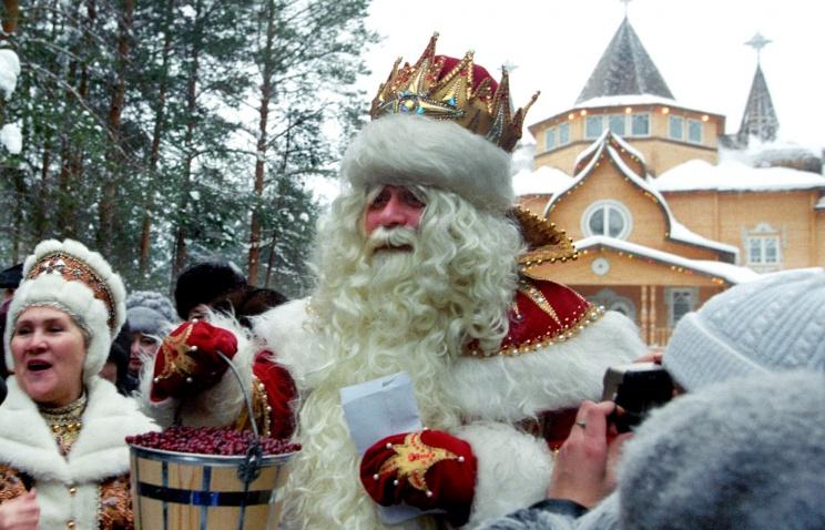 Проводы Деда Мороза из Великого Устюга в новогоднее путешествие