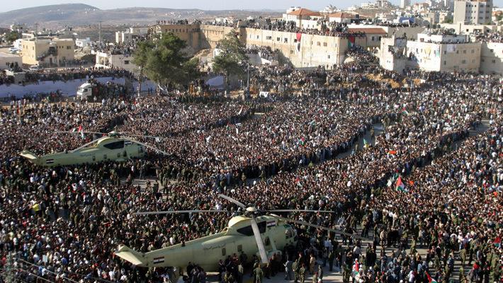 Похороны Арафата