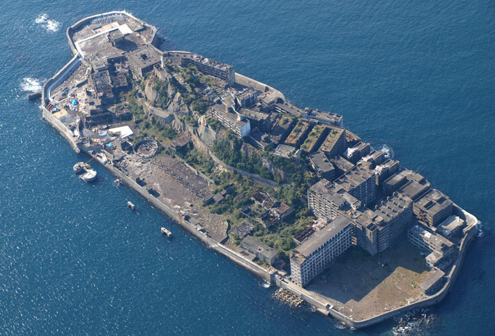 Остров Хасима /Япония/. Фото flickr.com-kntrty
