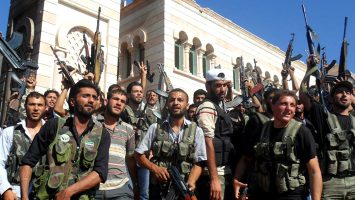 Боевики Сирии