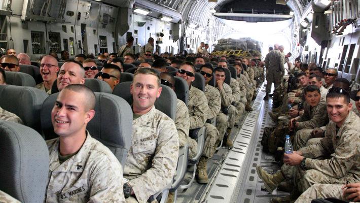 Морские пехотинцы США в Киргизии