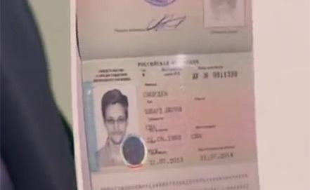 Сноуден паспорт