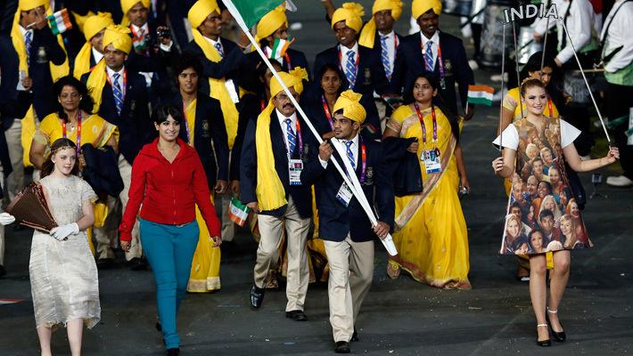 Индийская студентка