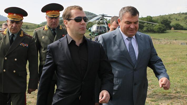 Медведев в Осетии
