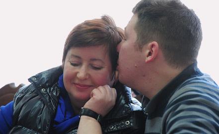 Козлов с женой