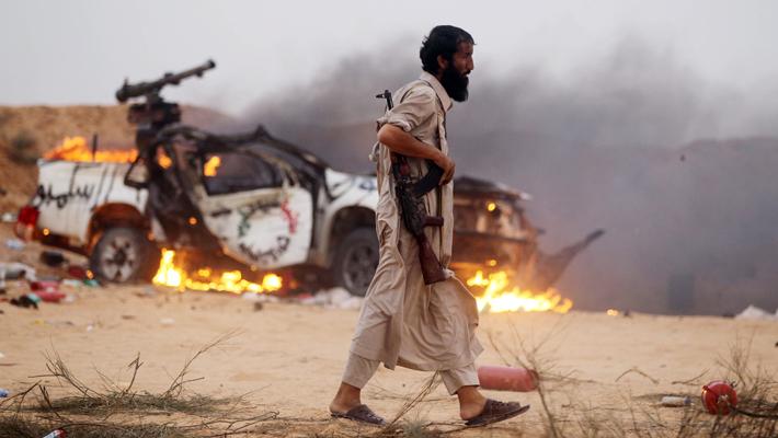 Повстанец_Ливия