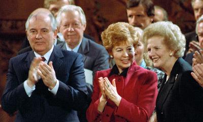 С Горбачевыми, 1989 год