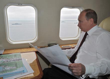 Путин на борту