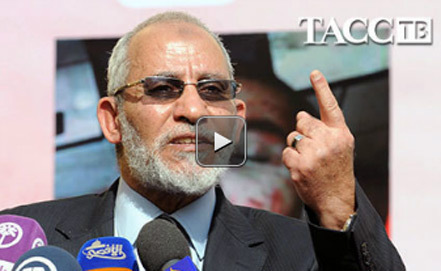 Видео арестован лидер братьев-мусульман