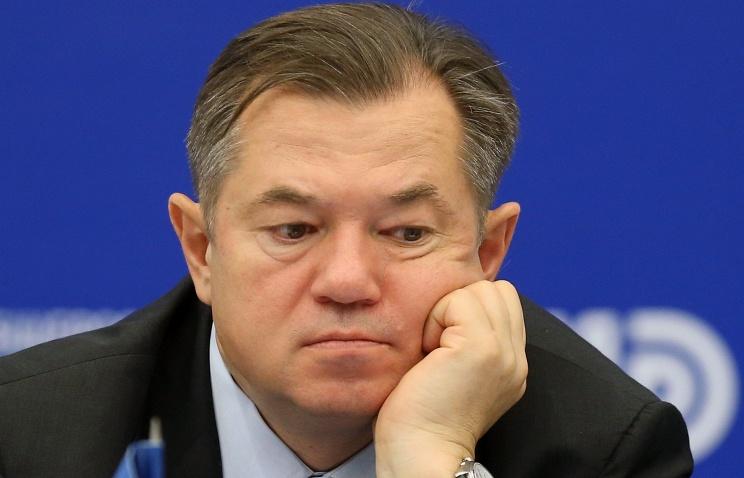 Russian presidential adviser Sergey Glazyev