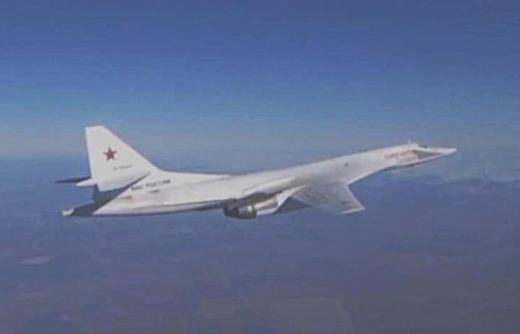 Russia's Tupolev Tu-160 strategic bomber
